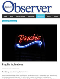 Psychic in Sydney - Observer
