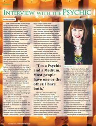 Interview with a Psychic